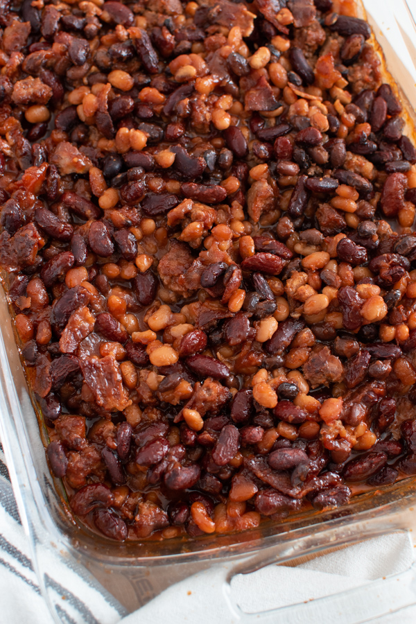 Try this oven baked beans recipe.