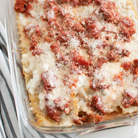 Best Ever Lasagna Made With Cottage Cheese