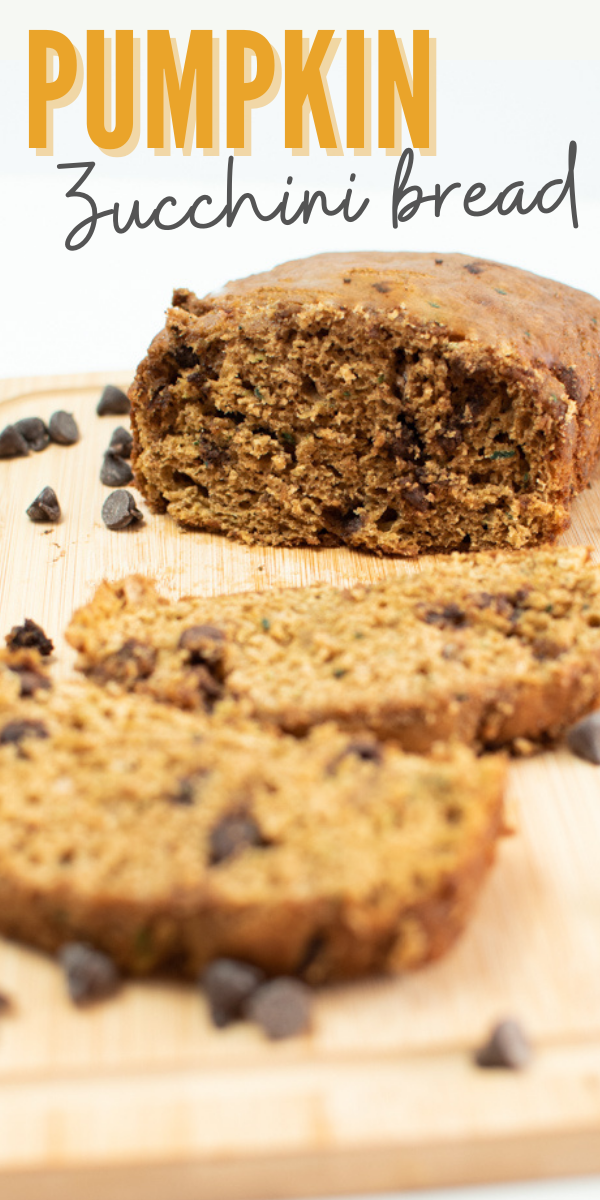 This is the best pumpkin zucchini bread recipe ever!