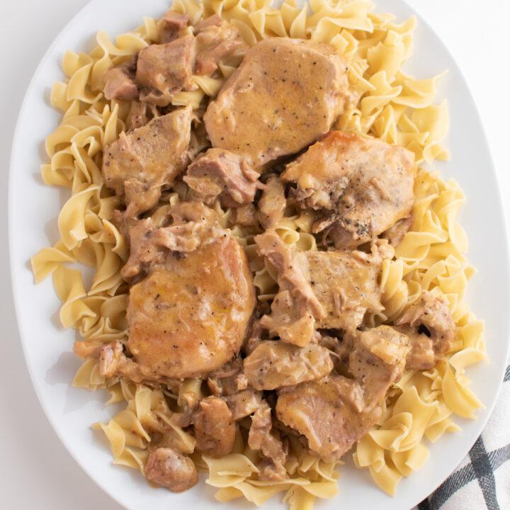 The Best 3 Ingredient Crock Pot Pork Chops